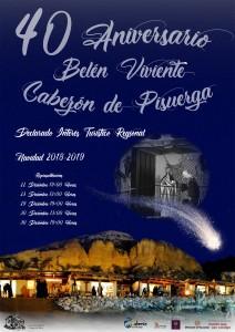 Cartel Belen Viviente 2018_2019 Solo Web Belen